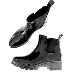Capellini Of New York Black Rain Boot